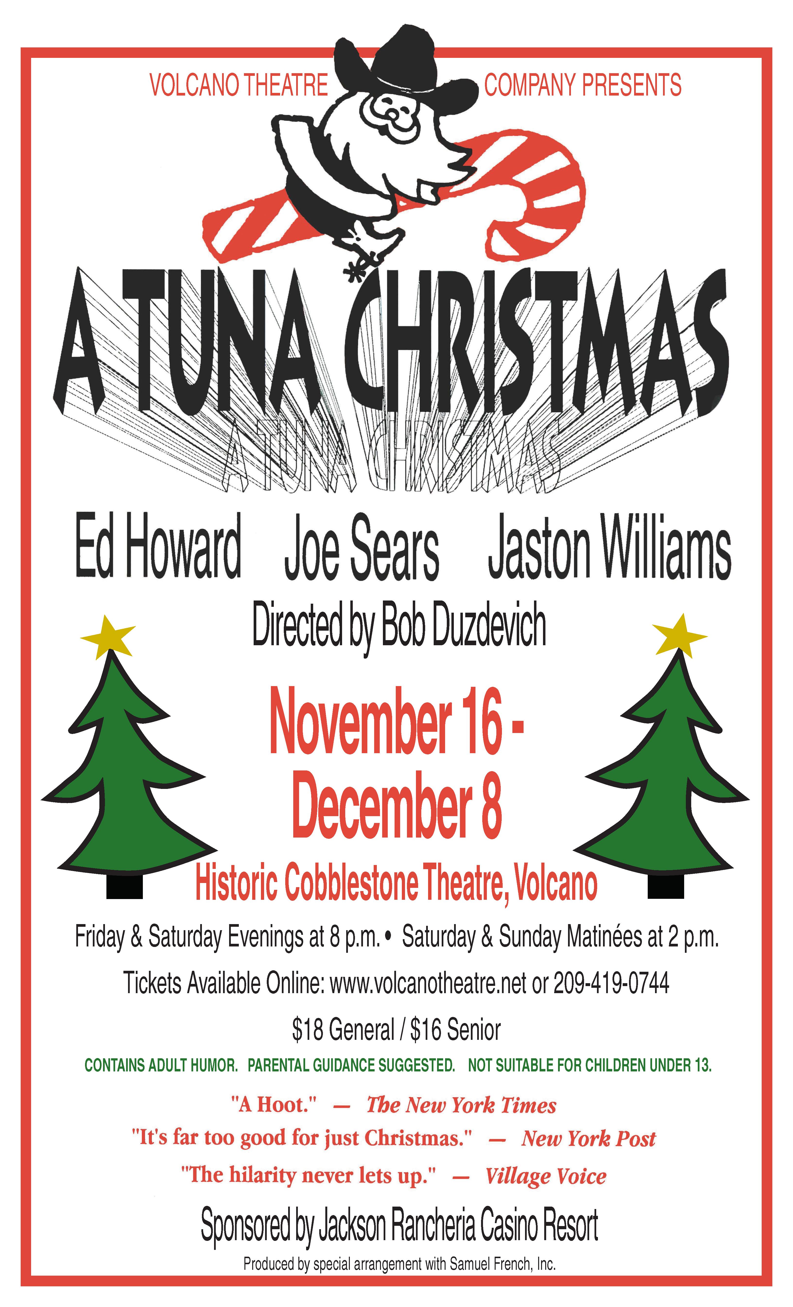 A Tuna Christmas.A Tuna Christmas Volcano Theatre Company