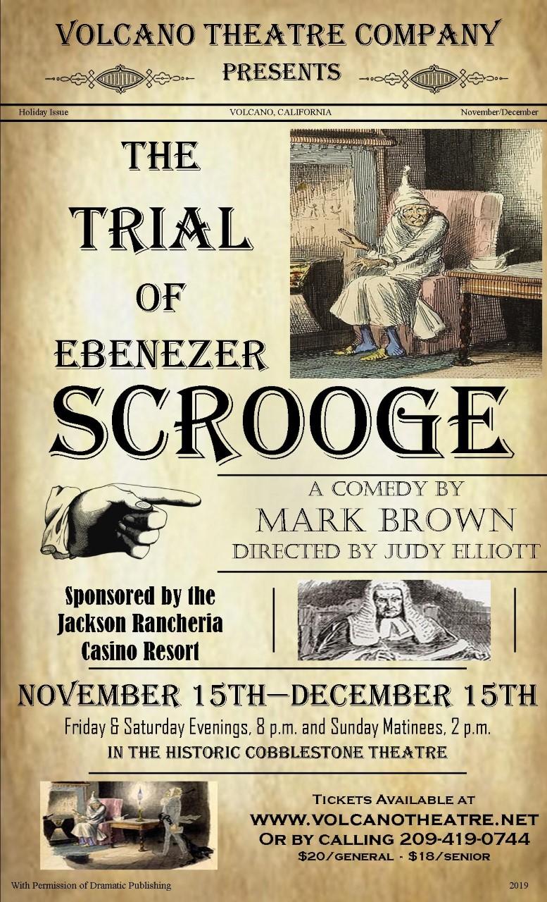 Ebenezer Scrooge Christmas Carol Characters.The Trial Of Ebenezer Scrooge Volcano Theatre Company