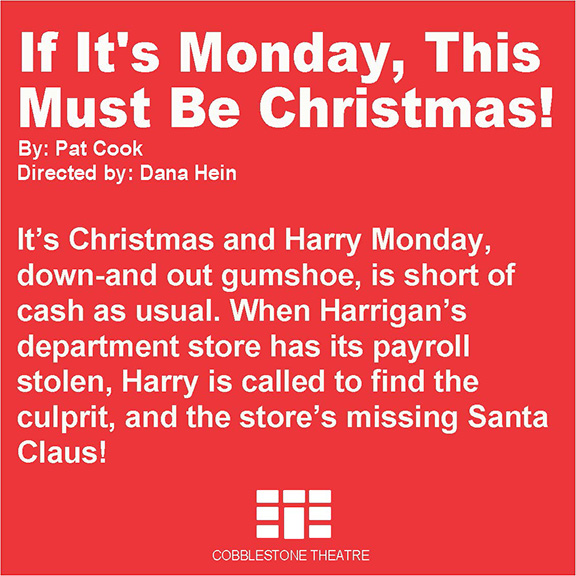 If It's Monday, This Must Be Christmas!